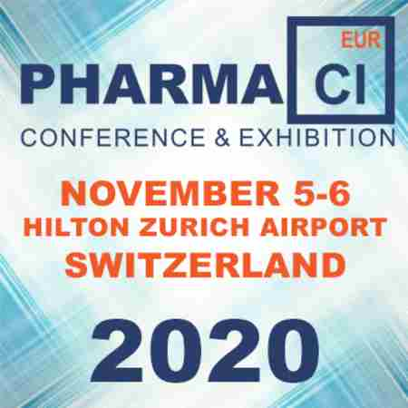 2020 Pharma CI Europe Conference And Exhibition in Switzerland on Thursday, November 5, 2020