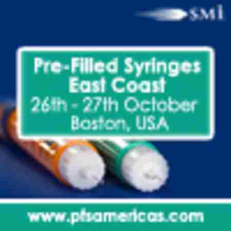 Pre-Filled Syringes East Coast 2020 in Boston on 5 Nov