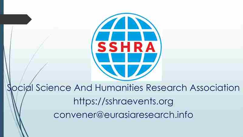 5th London – International Conference on Social Science & Humanities (ICSSH), 27-28 April 2021 in London on 27 Apr