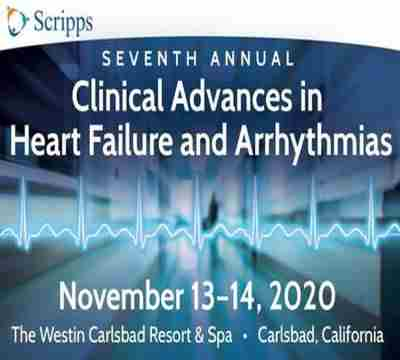 Scripps Heart Failure and Arrhythmias CME Conference 2020 San Diego in Carlsbad on 13 Nov