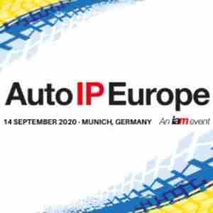 Auto IP Europe 2020 in München on 14 Sep