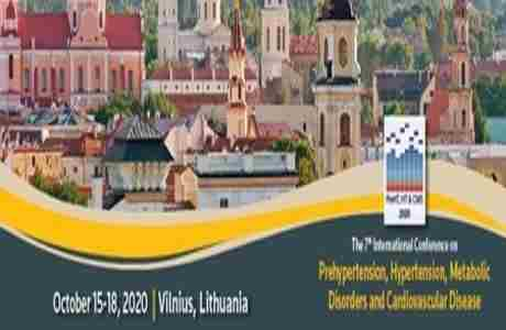 The 7th International Conference on Prehypertension in Vilnius on 15 Oct