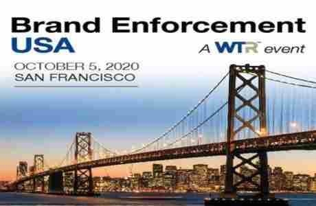 Brand Enforcement USA 2020 in San Francisco on 5 Oct