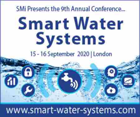 Smart Water Systems 2020 in London on 15 Sep
