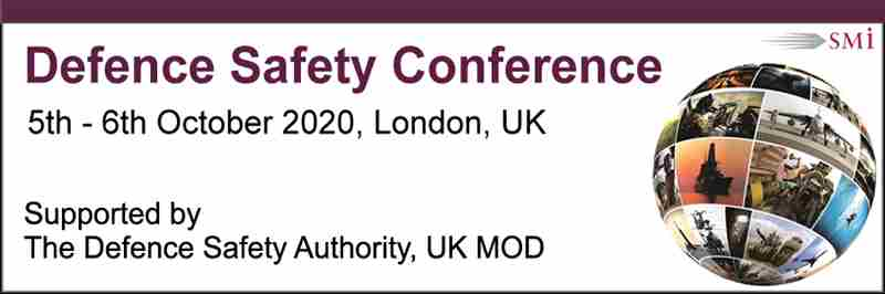 Defence Safety Conference 2020 in London on 5 Oct