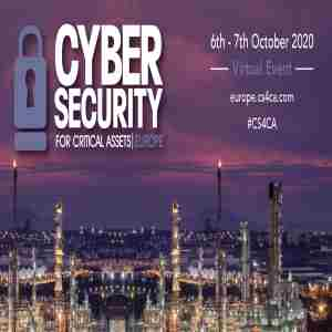 Cyber Security for Critical Assets European Summit, London, October 2020 in Greater London on 6 Oct