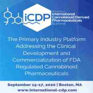 3rd Cannabinoid-Derived Pharmaceuticals Summit in Boston on 15 Sep