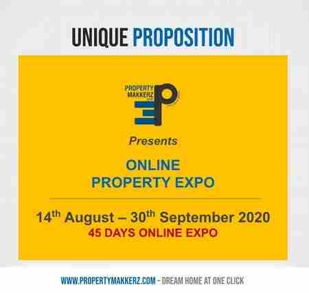 ONLINE PROPERTY EXPO 2020 in Maharashtra on Friday, August 14, 2020