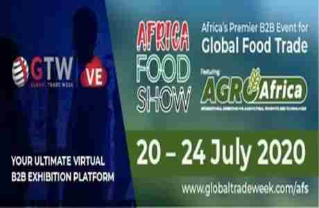 Africa Food Show - Virtual Exhibition 2020 in Nairobi on 20 Jul
