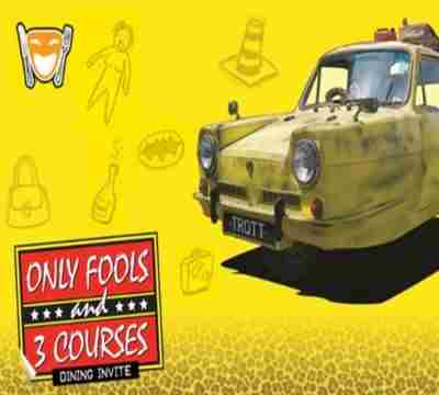 Only Fools and 3 Courses - Park Inn by Raddison Palace Southend-on-Sea 11th October @ 1pm in Southend-on-Sea on 11 Oct
