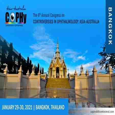 6th Annual Congress on Controversies in Ophthalmology: Asia-Australia in Krung Thep Maha Nakhon on 29 Jan