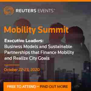 Reuters Events Mobility Summit in Kansas on 22 Oct