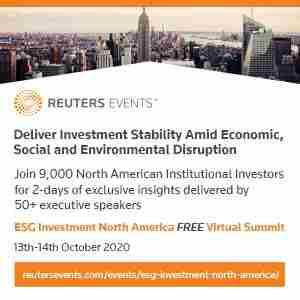 ESG Investment North America Virtual Summit in Dearing on 13 Oct