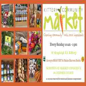 Kittery Community Market Outdoor Season in Maine on 26 Jul