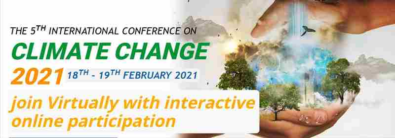 5th International Conference on Climate Change 2021 – (ICCC 2021) in colombo on 18 Feb