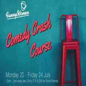 Comedy Crash Course in England on 20 Jul