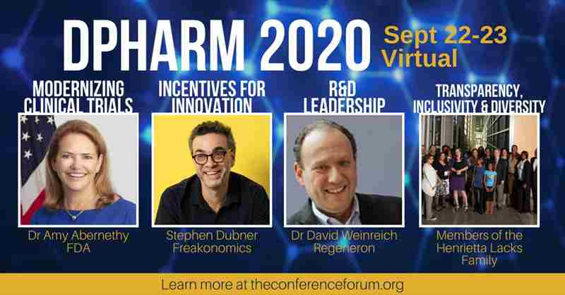 DPHARM: Disruptive Innovations in Clinical Trials - September 22-23, 2020 - Virtual in New York on 22 Sep
