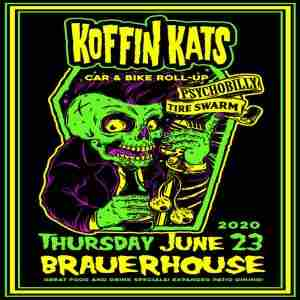 The Koffin Kats Live at Tire Swarm Car and Bike Show in Lombard on 23 Jul