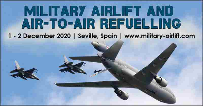 Military Airlift and Air-to-Air Refuelling in Seville on 1 Dec