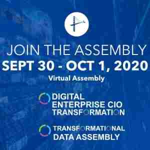 Digital Enterprise and Data Virtual Assembly - September 2020 in Dearing on 30 Sep