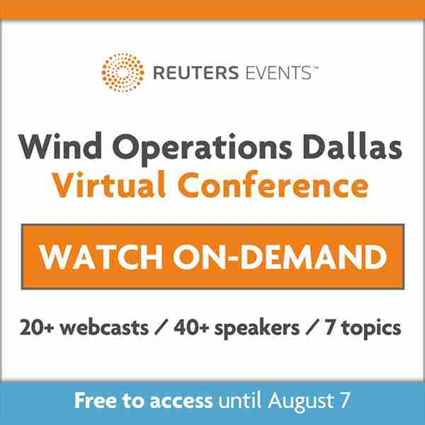 Wind Operations Dallas VIRTUAL 2020 (July 22 - August 7) O and M, Asset Management in Dallas on 23 Jul