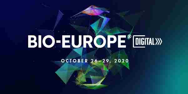 BIO-Europe® 2020 Digital - 26th Annual International Partnering Conference in Oberdorla on 26 Oct