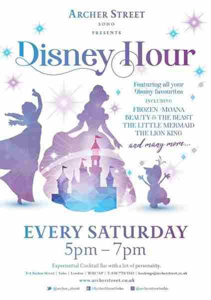Disney Hour in Greater London on 1 Aug