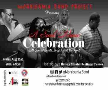 Soul Music Celebration featuring Morrisania Band Project in New York on 21 Aug