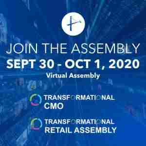 Transformational CMO Virtual Assembly - September 2020 in Henderson on 30 Sep