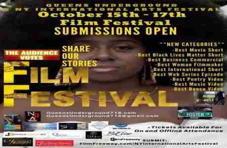NY International Arts Festival and Queens Underground Presents the October 2020 Film Festival in Queens on 15 Oct