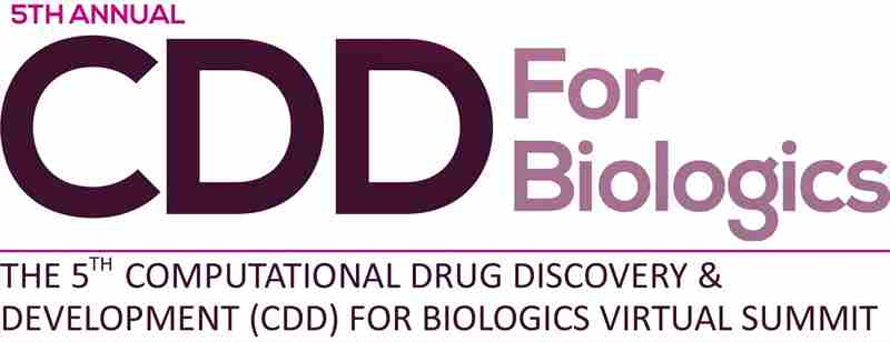 5th Computational Drug Discovery and Development (CDD) for Biologics Summit in Boston on 6 Oct
