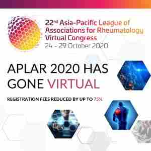 APLAR 2020 Virtual | 22nd APLAR Congress | 24-29 October 2020 in Nagano on 24 Oct