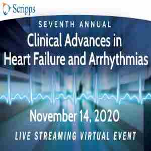 2020 Clinical Advances in Heart Failure and Arrhythmias - Live Streaming Virtual CME Event in San Diego on 14 Nov