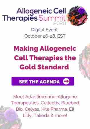 Digital Allogeneic Cell Therapy Summit 2020 in Dearing on 26 Oct