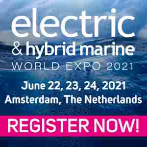 Electric and Hybrid Marine World Expo 2021, Amsterdam RAI, The Netherlands in Amsterdam on 22 Jun