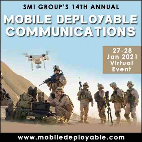 Mobile Deployable Communications Conference 2021 (Virtual Conference) in Lisbon on 27 Jan