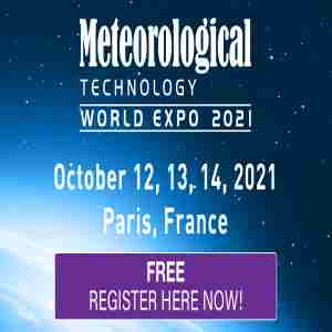 Meteorological Technology World Expo 2021 - October 12-14, 2021 Paris, France in Paris on 12 Oct