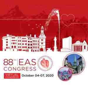EAS 2020 Virtual Congress, 88th Congress of the European Atherosclerosis Society in Geneva on 4 Oct
