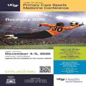 15th Annual UCSF Primary Care Sports Medicine in San Francisco on 4 Dec