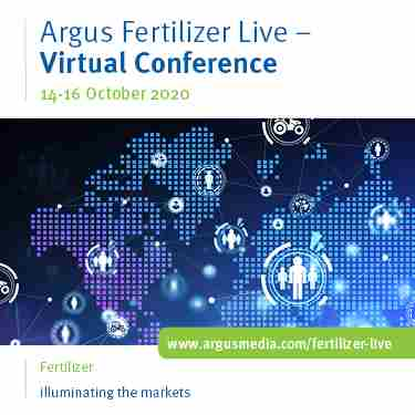 Argus Fertilizer Live - Virtual Conference in London on 14 Oct