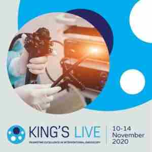 King's Live 2020 Virtual Lecture and Masterclass / Hands-On Courses | 10-14 November 2020 in London on 10 Nov