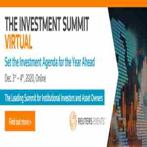 The Investment Summit in New York on 3 Dec