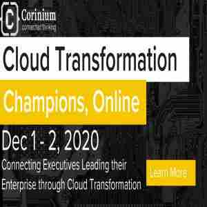 Cloud Transformation Champions, Online | EU in Amsterdam on 1 Dec
