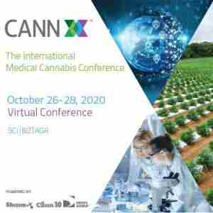 CannX 2020 - Virtual: 5th International Medical Cannabis Conference in Tel Aviv on 26 Oct