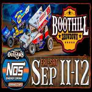 World of Outlaws NOS Energy Drink Sprint Car Series Boot Hill Showdown in Dodge City on 11 Sep