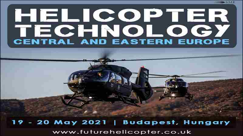 Helicopter Technology Central and Eastern Europe 2021 in Budapest on 19 May
