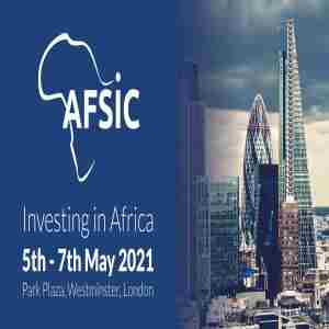 AFSIC 2021 - Investing in Africa Conference, London, May in London on 5 May