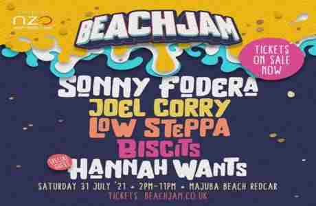 BeachJam 2021 in Redcar and Cleveland on 30 May