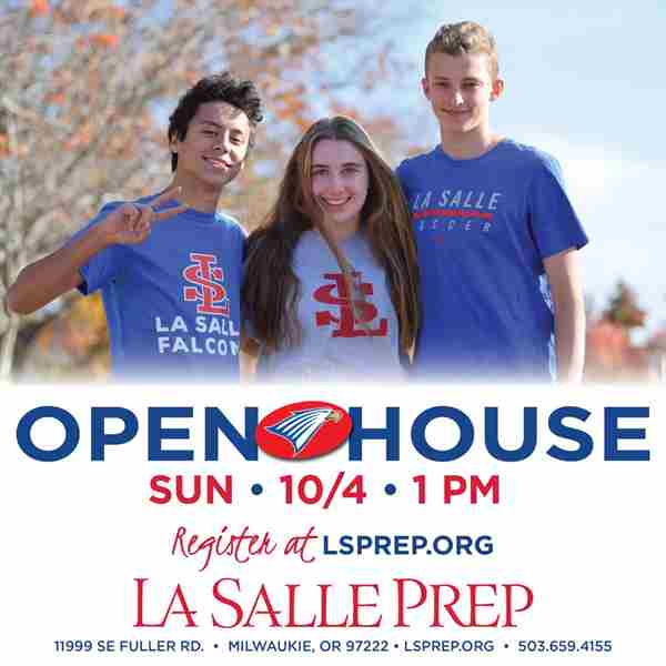 La Salle Prep Open House in Milwaukie on 4 Oct