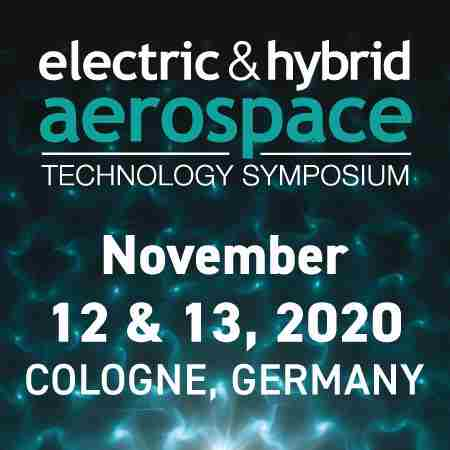 Electric and Hybrid Aerospace Technology Symposium Cologne, Germany Nov 2020 in Cologne on 12 Nov